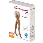 Avicenum PHLEBO 70 profilaktyczne pończochy samonośne z zamkniętym czubkiem, z koronką - box