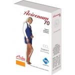 Avicenum 70 MATERNITY medyczne rajstopy profilaktyczne dla ciężarnych, z czubkiem zamkniętym - box