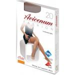 Avicenum FASHION 20 - wygodne pończochy z koronką - box