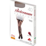 Avicenum FASHION 40 SUPPORT wspierajace pończochy samonośne z koronką